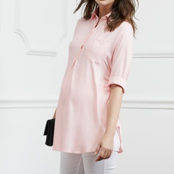 594be78d4fdc7 Isabella Oliver Tops | Belgrove Maternity Shirt | Poshmark